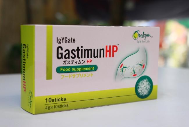 Thuốc GastimunHP chữa vi khuẩn Hp dạ dày có tốt không ?