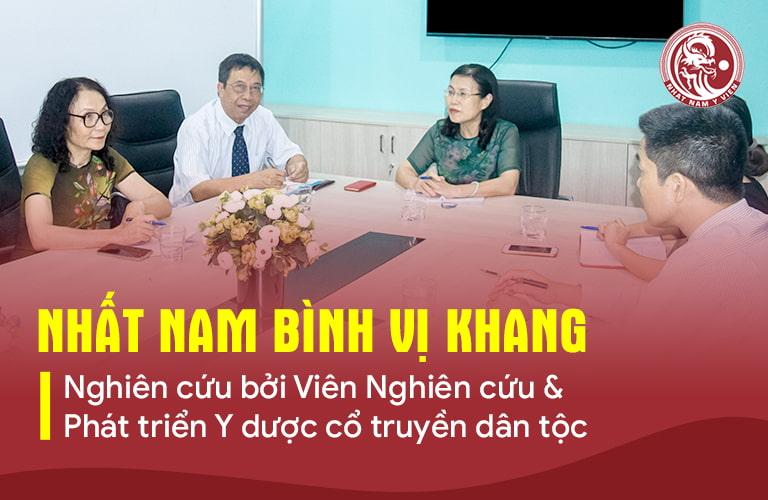 Nhất Nam Bình Vị Khang là thành quả nghiên cứu của đội ngũ chuyên gia giàu kinh nghiệm từ Viện NC & PT Y dược dân tộc