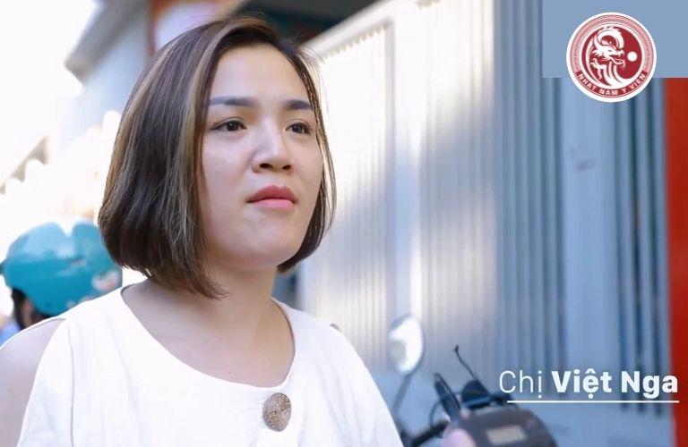 Chị Việt Nga chia sẻ về hành trình chữa bệnh dạ dày của mình