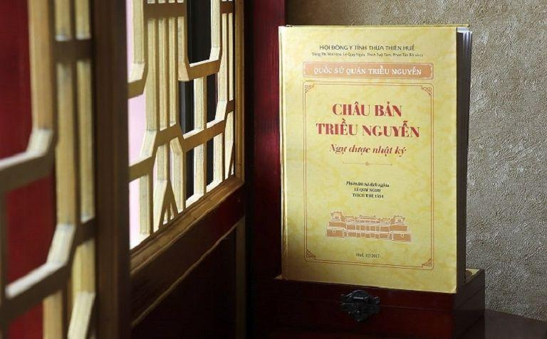 Châu bản triều Nguyễn - cuốn sách quý lưu giữ bí mật về bài thuốc quý trong cung đình