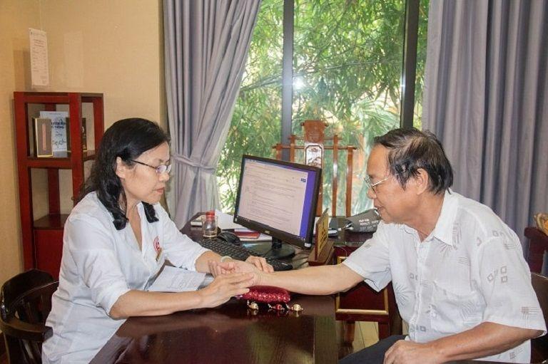 Chú Dương có đến khám chữa bệnh tại đơn vị Nhất Nam Y Viện theo lời của người bạn