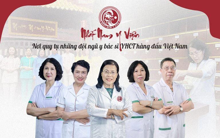 Nhất Nam Y Viện sở hữu đội ngũ bác sĩ YHCT giàu kinh nghiệm chuyên môn
