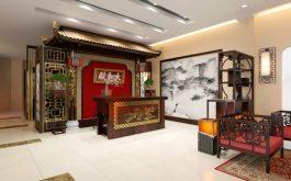 Đơn vị phục dựng theo mô hình khám chữa bệnh của Thái Y Viện triều Nguyễn