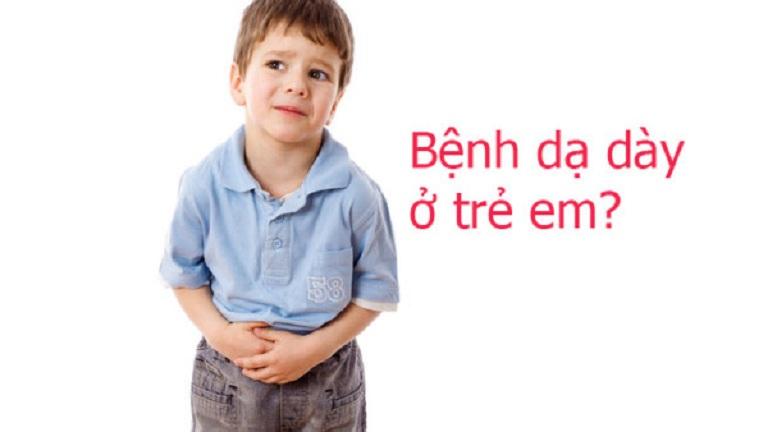 Trẻ nhỏ bị đau dạ dày do nhiều nguyên nhân khác nhau