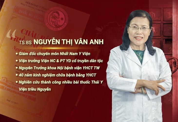 Tiến sĩ, Bác sĩ chuyên khoa II Nguyễn Thị Vân Anh