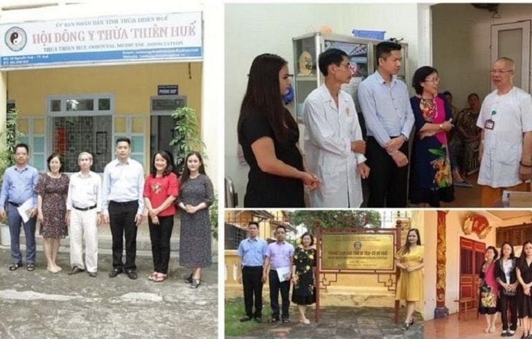 Bác sĩ Nguyễn Thị Vân Anh cùng các bác sĩ, chuyên gia vào Huế nhiều lần trong quá trình phục dựng Thái Y Viện Triều Nguyễn